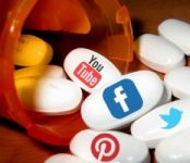a bottle of social media pills