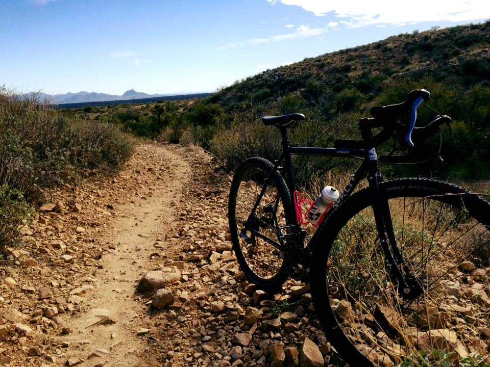 riding in mcdowell mountain regional park