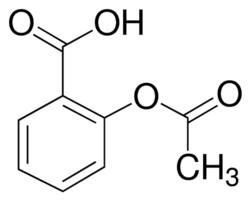 acetylsalicylic acid molecular structure