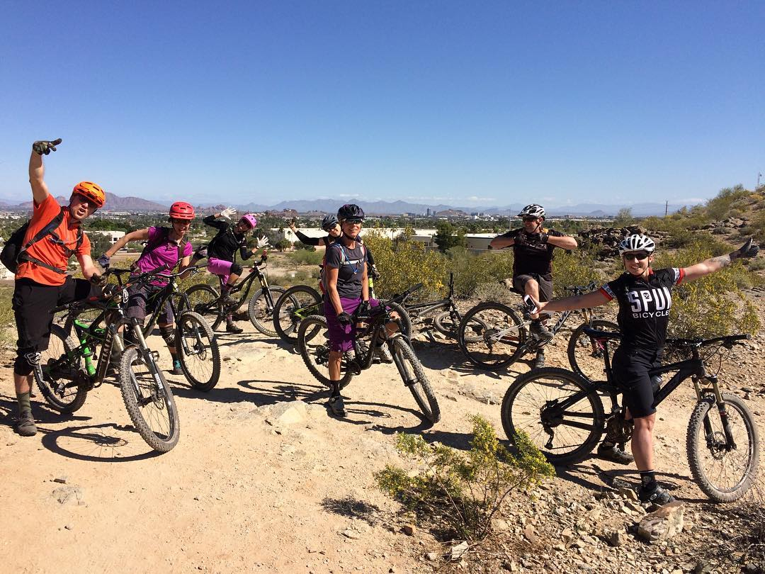 mountain biking south mountain
