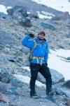 Corey Duren climbing Mt Shasta